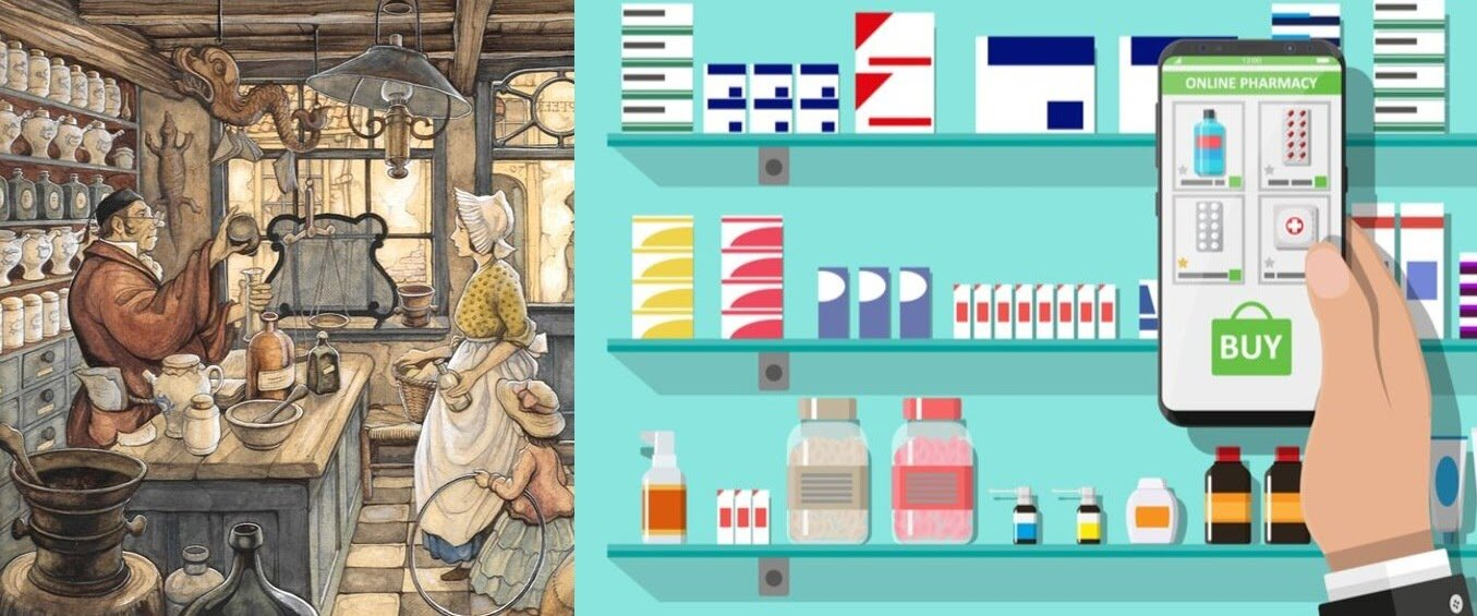 pharmacy-then-and-now